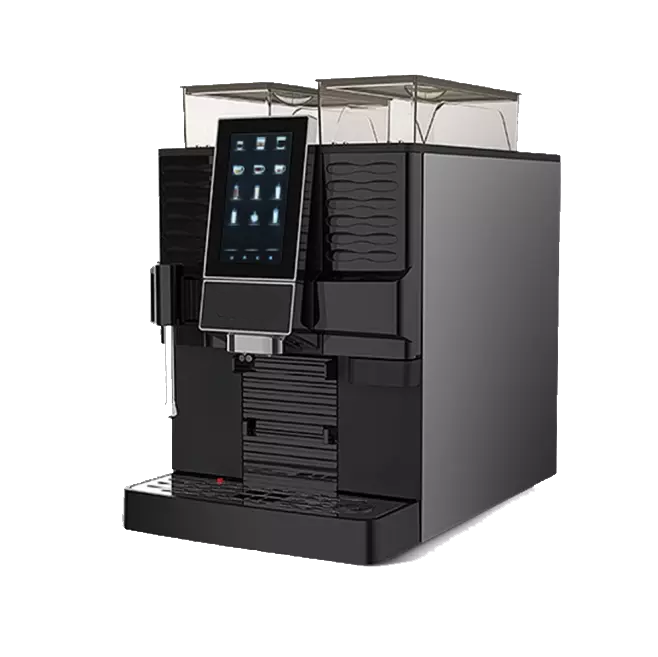 FACILenjoy FE31 kantoor en horeca zijkant van de koffiemachine